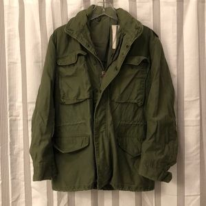 Vintage army field jacket men's small